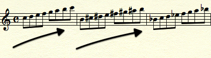 Jazz Scales - Up, Up - Descending
