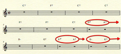 More Active Blues Chords