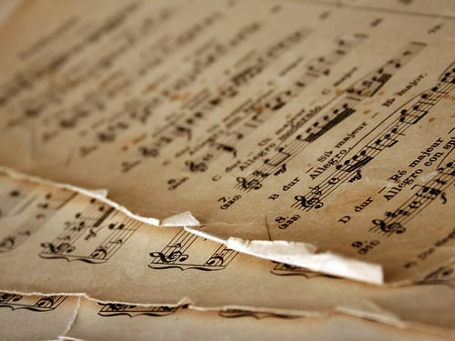 Piano Sheet Music Wallpaper 6 Tunes Tunes Tunes