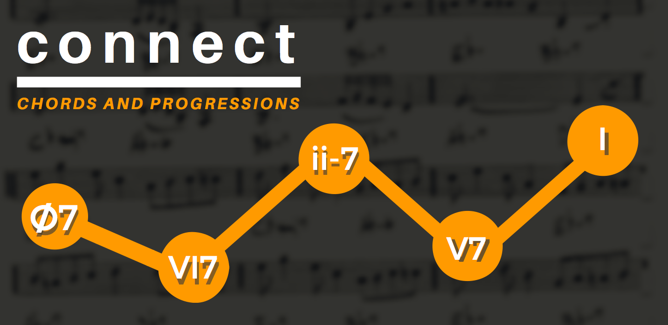 Connect chords and progression