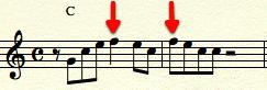 Fourth chord tone