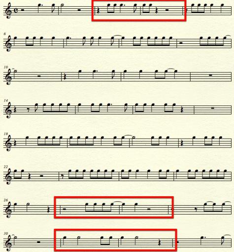Three Rhythms