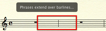 Barline Phrase