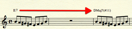 Different Chord