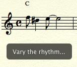 any rhythm