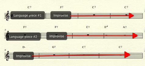 mixing jazz techniques