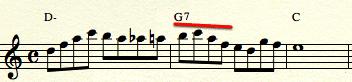 Dexter line - triad